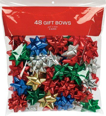 Berwick Traditional Bows Assorted Colors 48 Count by Berwick Offray