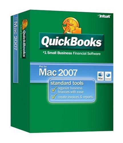 QuickBooks Pro 2007 Mac VERSION