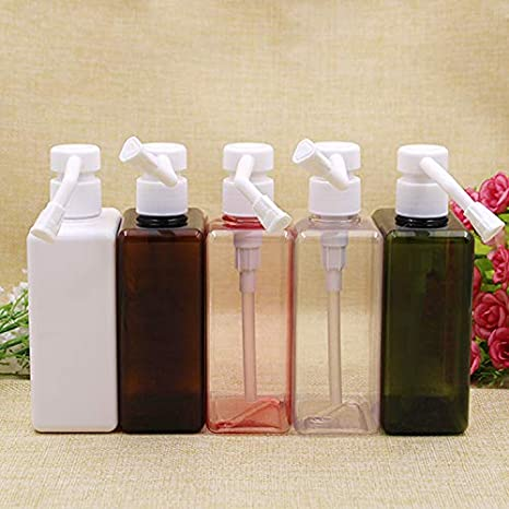 d0fdf534d688 Amazon.com : YyZKO one piece 300ml square shape PETG bottle, Plastic ...