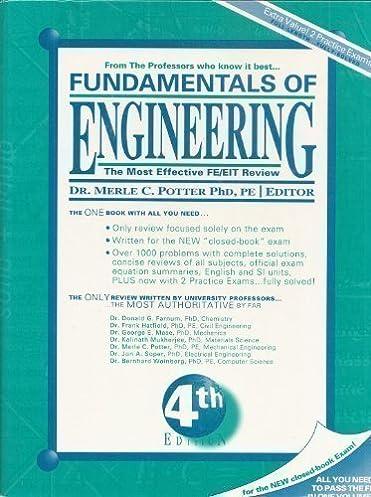fundamentals of engineering the most effective and authoritative rh amazon com Fe Exam Fe Exam Study Book