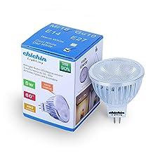 ChiChinLighting® LED Lights LED Mr16 Bulb LED Mr16 Daylight Cool White 6000k 60 Degree Lighting 12V