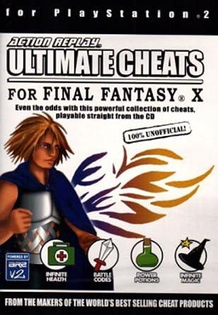 Final Fantasy X Cheat Disc: Amazon co uk: PC & Video Games