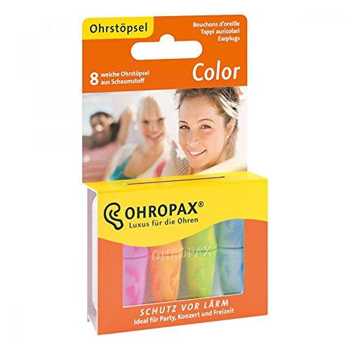 42 opinioni per Ohropax Color- Tappi per le orecchie