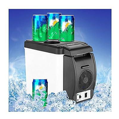 Car Mini Refrigerator, Doinshop Portable 12V 6L Thermoelectric Cooler Warmer Travel Fridge