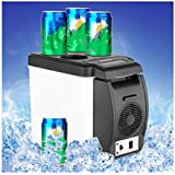Car Mini Refrigerator, Doinshop Portable 12V 6L Thermoelectric Cooler Warmer Travel Fridge