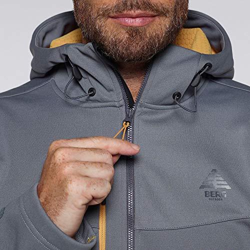 Outdoor Urra Berg Grey Softshell Jacket Hombre Steel 1axF7x