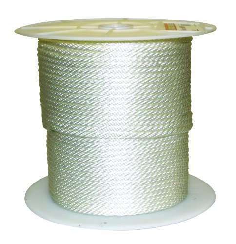 Rope King SBN-516600 Solid Braided Nylon Rope 5/16 inch x 600 feet (Splicing Braid Double)