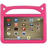All New Fire 7 2017 Kids Case, Fire 7 2015 Kids Case - APLPJYR Light Weight Shock Proof Handle Kid-Proof Case for F i r e 7 inch Display Tablet (2015&2017 Release) (pink0)
