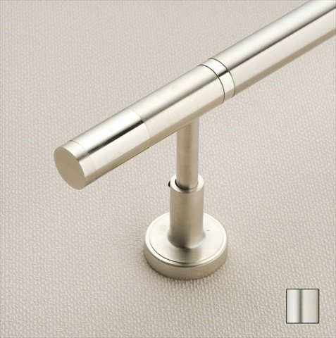 WinarT USA 8.1004.25.01.240 Vesta 1004 Curtain Rod Set - 1 in. - Matte Nickel - 94 in. from WinarT USA