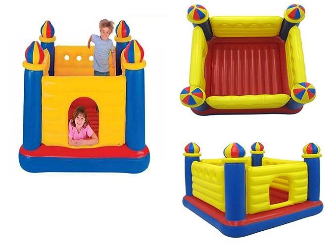 YXS Infantil Inflable Bouncetastic Castillo Hinchable, Dale Equipo ...