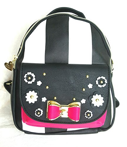 Betsey Johnson BACKPACK CONVERTIBLE STRIPE ()