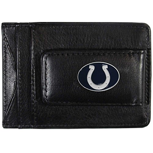(NFL Indianapolis Colts Leather Money Clip Cardholder)