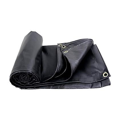 Toldos impermeables negro engrosamiento carpa protector solar para exteriores poncho a prueba de polvo tejido de