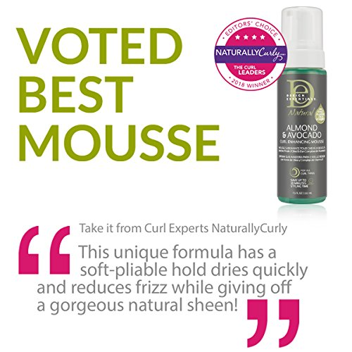 Design Essentials Natural Curl Enhancing Mousse Quick Drying Must