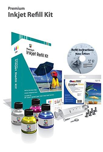 Universal Brand: Ink Refill Kit - Color - Cyan, Magenta, Yellow
