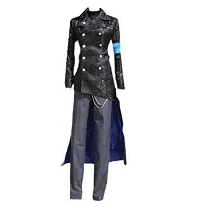 Amazon devil may cry dmc 5 vergil black cosplay costume trench devil may cry dmc 5 vergil black cosplay costume trench coat cosplay costume voltagebd Images