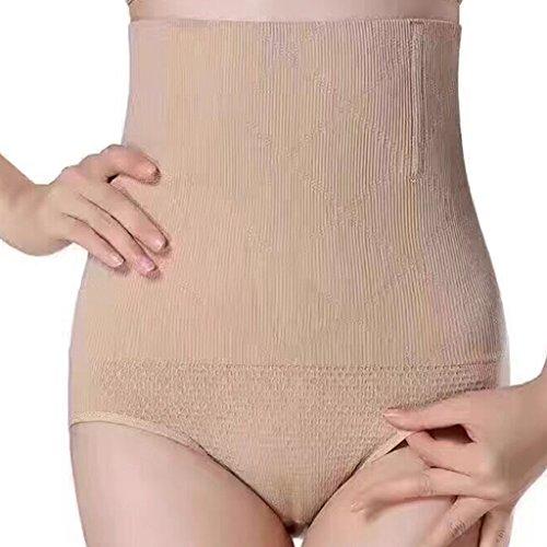 cb68470d169 MUNAFIE High Waist Bodyshaping Slimming Panty Tummy Control Panty at Amazon  Women s Clothing store