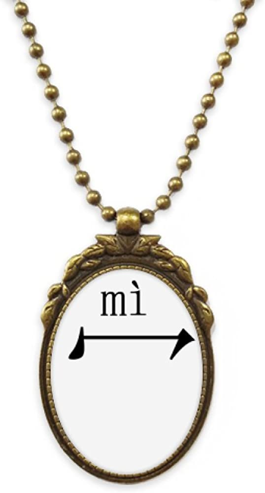 DIYthinker Chinese Character Component mi Antique Necklace Vintage Bead Pendant Keychain