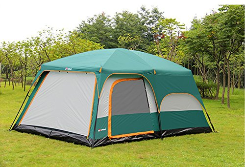 Hestio-8-12-Person-Outdoor-C&ing-Tent-2- & Hestio 8-12 Person Outdoor Camping Tent 2 Rooms and a hall ...