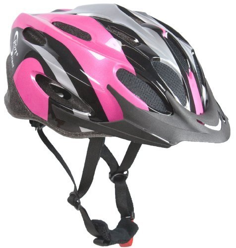 Cheap Sport Direct Women's Vapour Bicycle Helmet – Pink/Black/Silver, Size 56-58