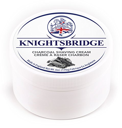 By Scented Shaving Cream - Knightsbridge - Charcoal Shaving Cream 170g