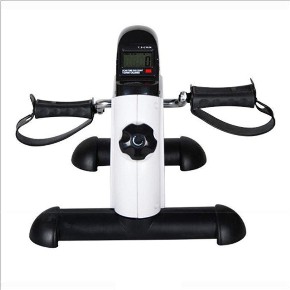ankt777 Pedal Exerciser Stationary Medical Peddler with Digital LCD Monitor for Elderly