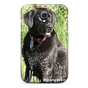 Excellent Galaxy S4 Case Tpu Cover Back Skin Protector Wet Labrador