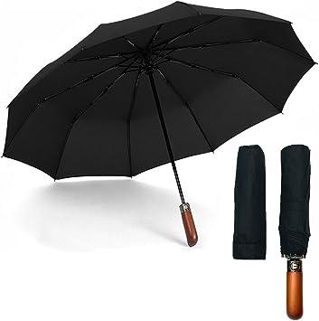 Quick-Drying Auto Open Close Foldable Rain Umbrella with Sun Protection GIFT IDEA Windproof Travel Umbrellas