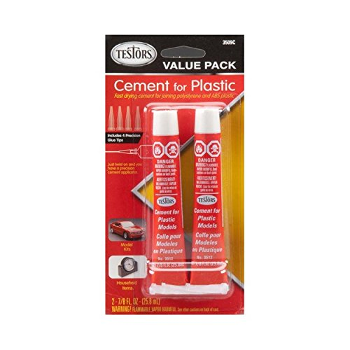 Model Glue - Cement Glue Value Pack Testors 2-7/8 fl oz tubes