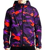 Nike T/F Camo Windrunner Men's Jacket Squadron Noble Purple/Vivid Purple (XL)