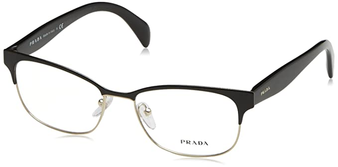 7aa5989e2063 Amazon.com  Prada Women s PR 65RV Eyeglasses 53mm  Health   Personal ...