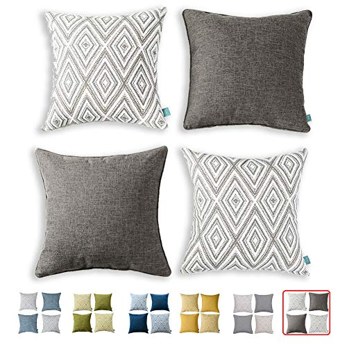 hpuk Decorative Pillow Covers Couch Pillow Covers Throw Pillow Covers