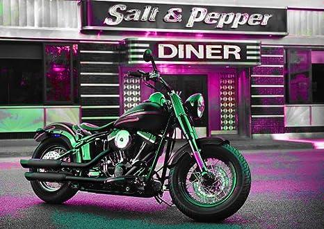 Harley davidson - 20 - Moto - classic Moto - chopper moto ...