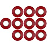 Sunlite Red Electrical Tape (10 Pack)