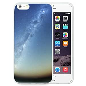 NEW Unique Custom Designed iPhone 6 Plus 5.5 Inch Phone Case With Milky Way Galaxy Rising_White Phone Case