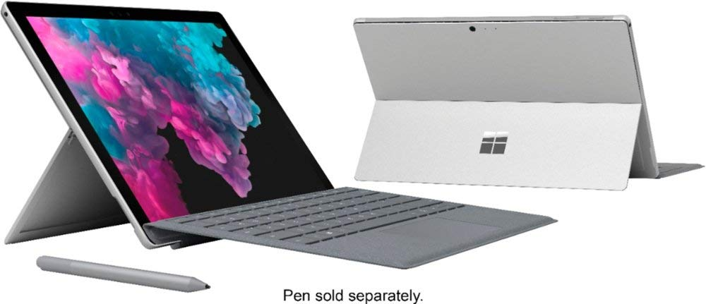 Microsoft-Surface-Pro-123-Touch-Screen-with-2736-x-1824-Resolution-Intel-7th-Generation-Core-M3-4GB-Memory-128GB-SSD-Bluetooth-WiFi-with-Type-Cover-Keyboard-Windows-10