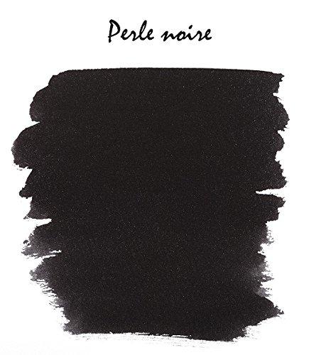 J. Herbin Fountain Pen Ink - 100 ml Bottled - Perle Noire by Herbin (Image #2)