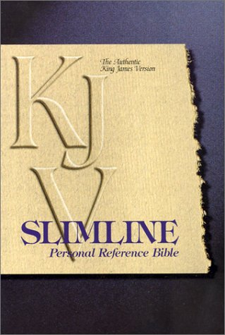 Slimline Personal Reference Bible-KJV-Snap ()