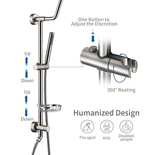 HOMELODY Retro-Fit Shower System, 8