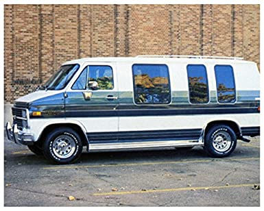 1980 Trans Aire GMC Conversion Van Camper Factory Photo
