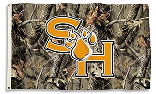 Sam Houston State Bearkats CAMO Realtree 3x5 Flag Outdoor House Banner University of