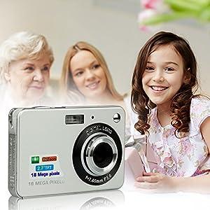 HD Mini Digital Camera with 2.7 Inch TFT LCD Display, Digital Video Camera Black-- Sports,Travel,Camping,Birthday&Christmas Gift by LLION
