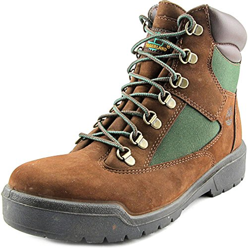 (Timberland Mens Icon 6 Inch Field Brown/Green Winter Boot - 8 M)