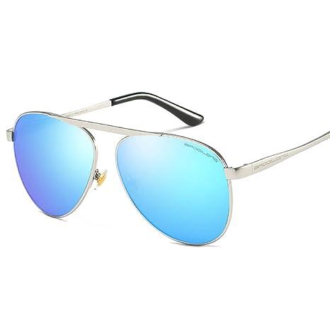 Sungeye Gafas de Sol Hombre Gafas de Sol Aviador polarizado ...