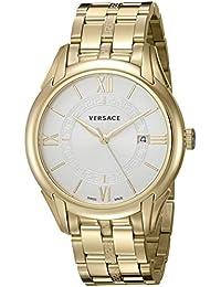 Men's V10060015 Apollo Analog Display Swiss Quartz Gold Watch