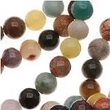 Gemstone Bead Mix 4mm Round Beads/15.5 Inch Strand