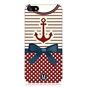 Generic Anchor Nautical Clothing Design Protective Skin Sticker Durable Laser Technology Case for iPhone 6 Plus (5.5 Inch Screen)