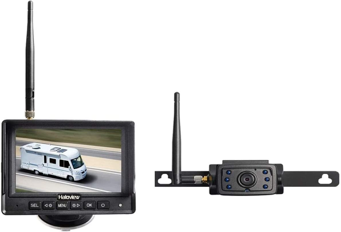 Haloview Mc5111 720p Hd Digital Rückfahrkamera Set Mit Elektronik