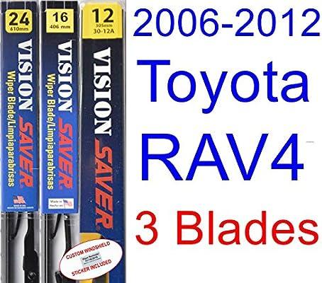 Amazon.com: 2006-2012 Toyota RAV4 Replacement Wiper Blade Set/Kit ...