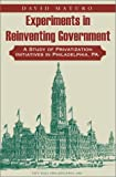img - for Experiments in Reinventing Government book / textbook / text book